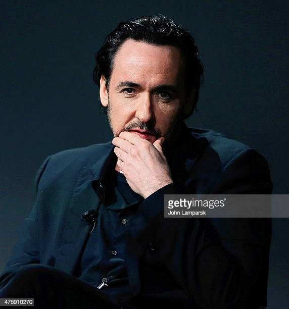 John Cusack attends Meet The Filmmaker John Cusack Bill Pohlad and Brian Wilson Love And Mercy during the Apple Store Soho Presents at Apple Store...