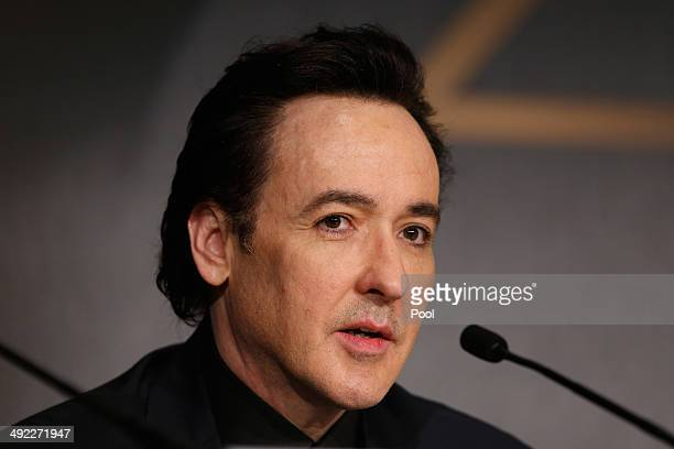 John Cusack attends the 'Maps To The Stars' press conference during the 67th Annual Cannes Film Festival on May 19 2014 in Cannes France