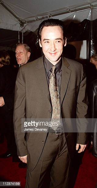 John Cusack during 'Cradle Will Rock' New York City Premiere at Ziegfield Theatre in New York NY United States