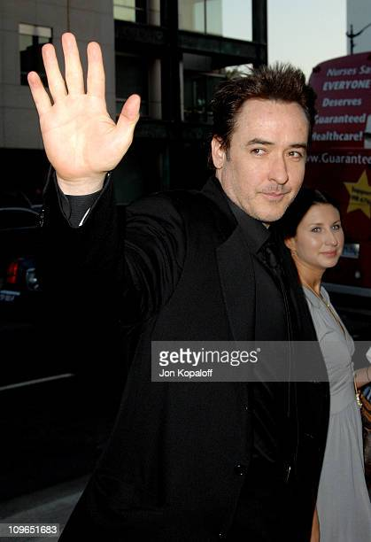 John Cusack during 'Sicko' Los Angeles Premiere Arrivals at Academy Of Motion Picture Arts Sciences in Beverly Hills California United States