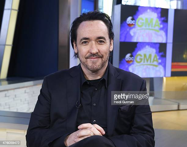 AMERICA John Cusack is a guest on 'Good Morning America' airing 6/4/15 on the ABC Television Network
