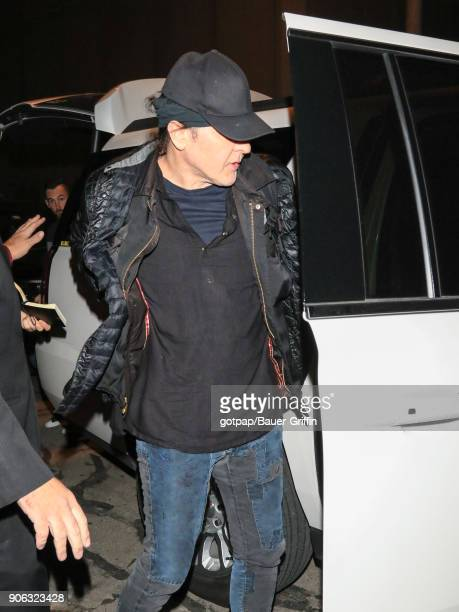 John Cusack is seen at Salt Lake International Airport on January 17 2018 in Park City Utah