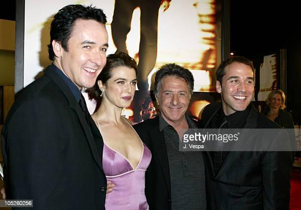 John Cusack Rachel Weisz Dustin Hoffman and Jeremy Piven
