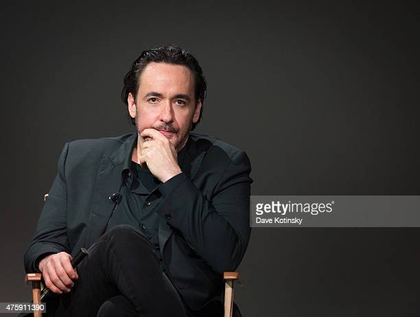 John Cusack speaks at the Apple Store Soho Presents Meet The Filmmaker 'Love And Mercy' at Apple Store Soho on June 4 2015 in New York City