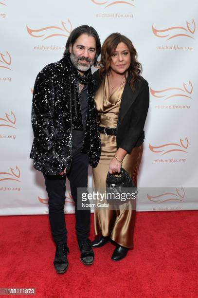 John Cusimano and Rachael Ray attend A Funny Thing Happened On The Way To Cure Parkinson's benefitting The Michael J Fox Foundation on November 16...