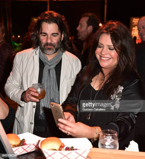John Cusimano and Rachael Ray attend Heineken Light Burger Bash Presented by Schweid Sons Hosted by Rachael Ray on February 24 2017 in Miami Beach...