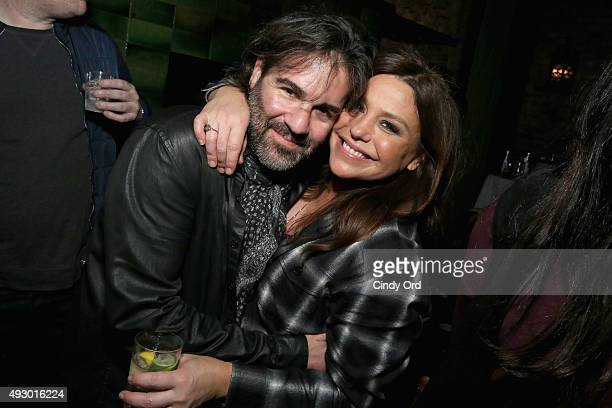 John Cusimano and Rachael Ray attend Rachael Ray's Feedback Chefs and Cocktails part of Mohegan Sun's Late Night Party Series during Food Network...
