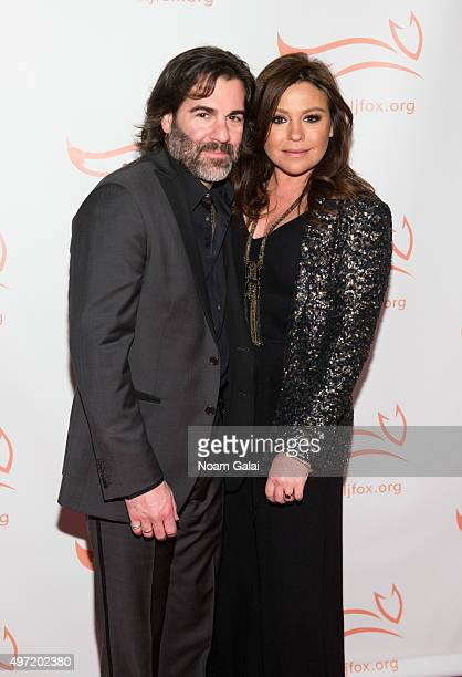 John Cusimano and Rachael Ray attend the Michael J Fox Foundation's A Funny Thing Happened On The Way To Cure Parkinson's Gala at The Waldorf=Astoria...