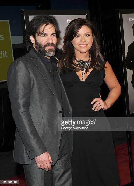 John Cusimano and Rachael Ray attends the premiere of Date Night at Ziegfeld Theatre on April 6 2010 in New York City