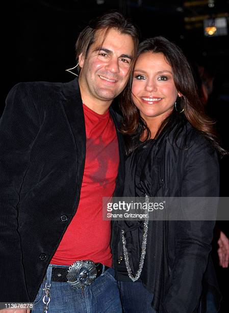 "John Cusimano and Rachael Ray during Rachael Ray Launch Party For Her New CD's "" Too Cool For School Mixtape For Kids"" And "" How Cool Is That..."