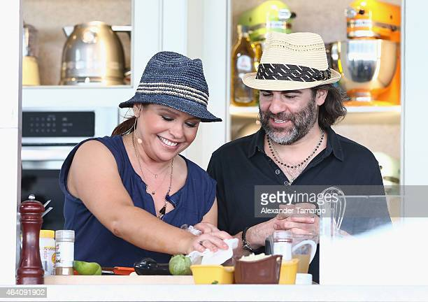 John Cusimano and Rachael Ray give a culinary demonstration at the Whole Foods Market Grand Tasting Village Featuring MasterCard Grand Tasting Tents...