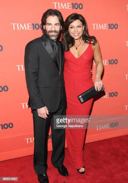 John Cusimano and Rachel Ray attends the 2010 TIME 100 Gala at the Time Warner Center on May 4 2010 in New York City
