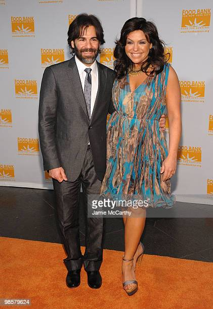 John Cusimano and TV personality Rachael Ray attend the Food Bank for New York City's 8th Annual CanDo Awards dinner at Abigail Kirsch�s Pier Sixty...