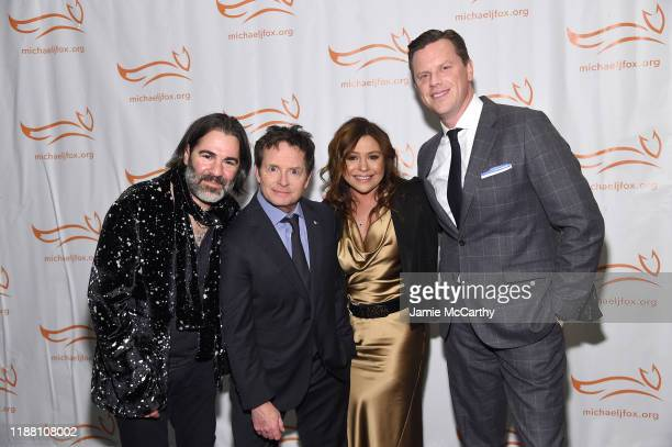 John Cusimano Michael J Fox Rachel Ray and Willie Geist attend A Funny Thing Happened On The Way To Cure Parkinson's benefitting The Michael J Fox...