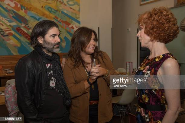 John Cusimano Rachael Ray and Kathy Griffin attend a brunch hosted by Rachael Ray in honor of the world premiere of Kathy Griffin's concert film...