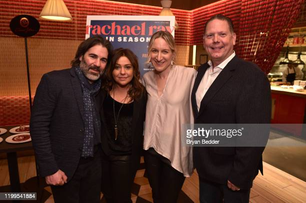 John Cusimano Rachael Ray EditorinChief Lauren Ionatti and President GM at Meredith Doug Olson attend as Rachael Ray Meredith and guests celebrate...