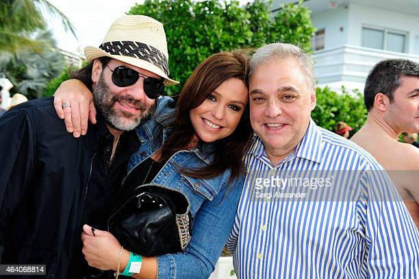 John CusimanoRachael Ray and SOBEWFF Founder/Director Lee Brian Schrager attend Yappie Hour presented by BarkBox hosted by Rachael Ray during the...
