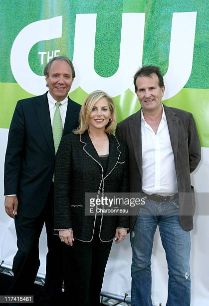 John D Maatta CW COO Dawn Ostroff CW President of Entertainment and Rick Haskins CW Executive VicePresident of Marketing