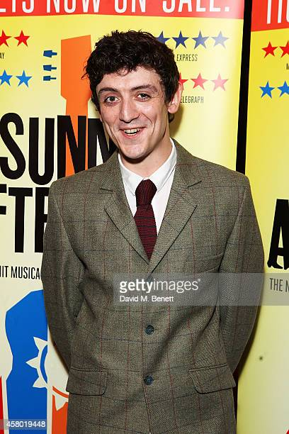 John Dagleish attends the after party following the press night performance of 'Sunny Afternoon' at Cafe De Paris on October 28 2014 in London England