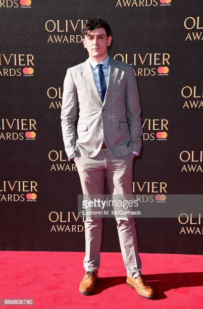 John Dagleish attends The Olivier Awards 2017 at Royal Albert Hall on April 9 2017 in London England