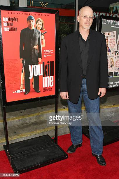 John Dahl during You Kill Me New York City Premiere Arrivals at IFC Center at 323 Sixth Avenue in New York City New York United States