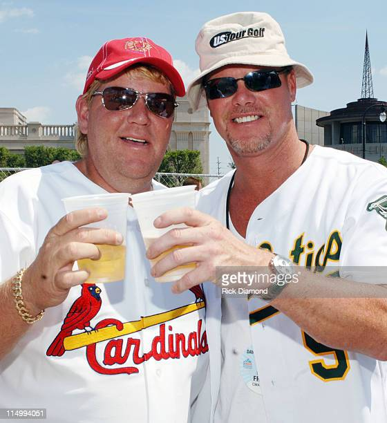 John Daly Golfer and Jim McMahon Former QB Chicago Bears