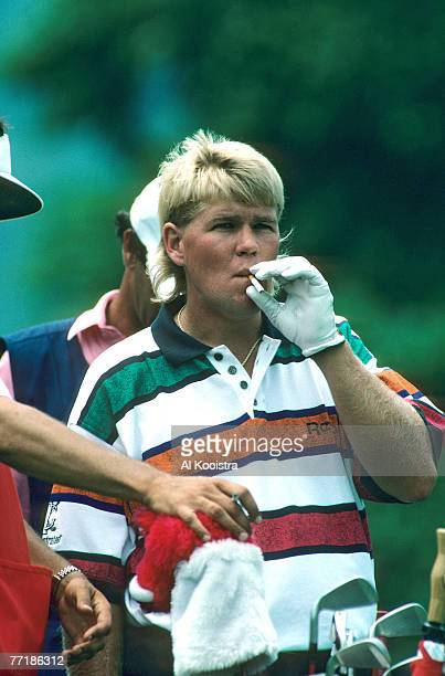 John Daly in action during the the 1993 US Open Championship at Baltusrol Golf Club Springfield New Jersey