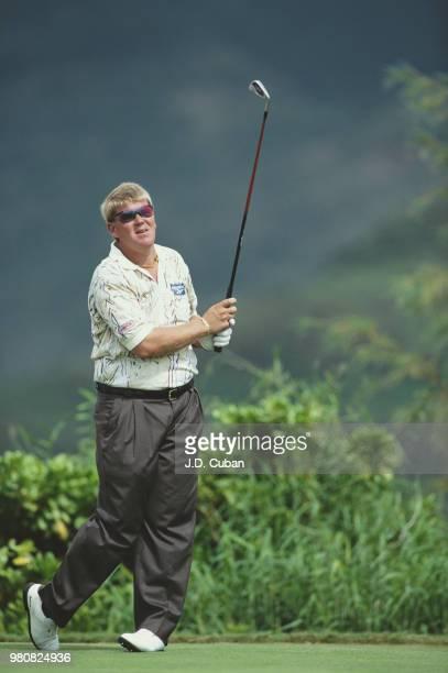 John Daly of the United States during the Mastercard PGA Grand Slam of Golf tournament on 8 November 1995 at the Poipu Bay Golf Course Koloa Hawaii...