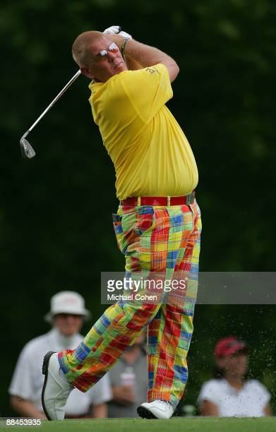 John Daly of the United States during the second round of the St. Jude Classic at TPC Southwind held on June 12, 2009 in Memphis, Tennessee.