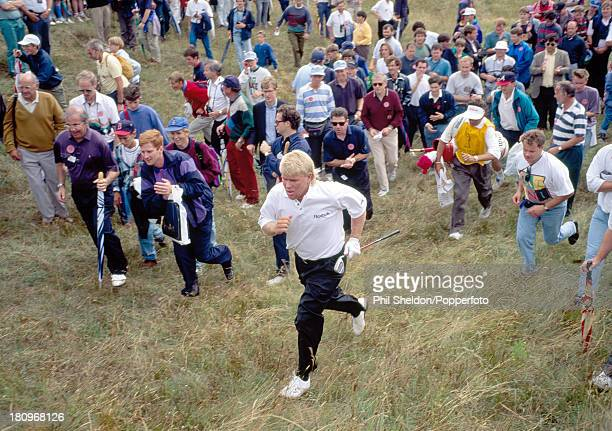 John Daly of the United States in action during the British Open Golf Championship held at the Royal St George's Golf Club in Sandwich 15th July 1993