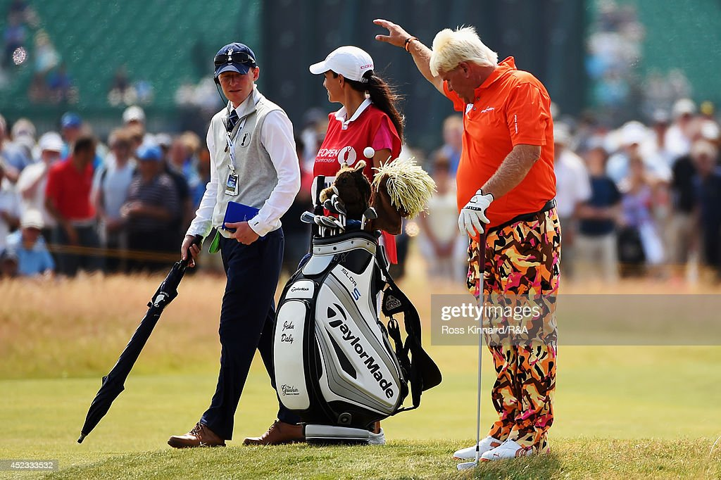 143rd Open Championship - Round Two : News Photo