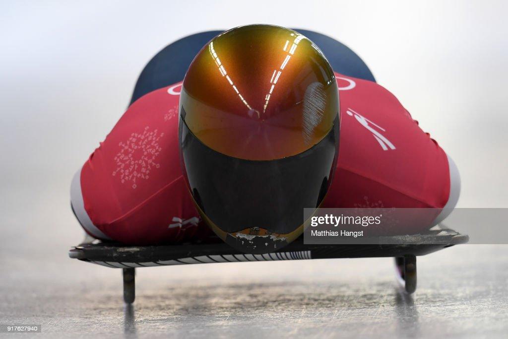 Skeleton Training - Winter Olympics Day 4