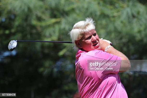 John Daly USA in action during the third round of the Travelers Championship at the TPC River Highlands Cromwell Connecticut USA 21st June 2014 Photo...