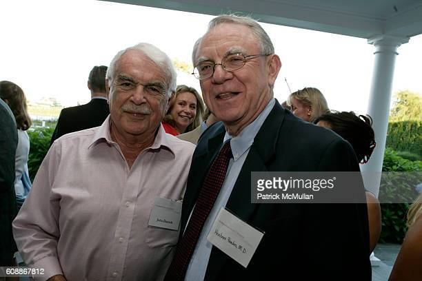 John Daniels Herb Pardes and MD attend MNUCHIN PERRY Summer Reception for NYPRESBYTERIAN HOSPITAL to meet HERB PARDES MD at Home of Heather and...