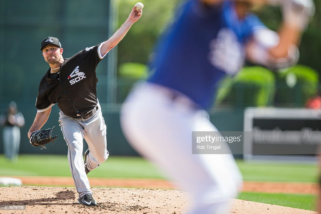 Chicago White Sox v Los Angeles Dodgers : News Photo