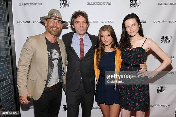 John Dapolito Alexis Boling Catherine Missal and Bodine Boling attends the Movement Location NYC Premiere on September 18 2015 in New York City