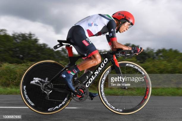 John Darwin Atapuma of Colombia and UAE Team Emirates / during the 105th Tour de France 2018, Stage 20 a 31km Individual Time Trial stage from...