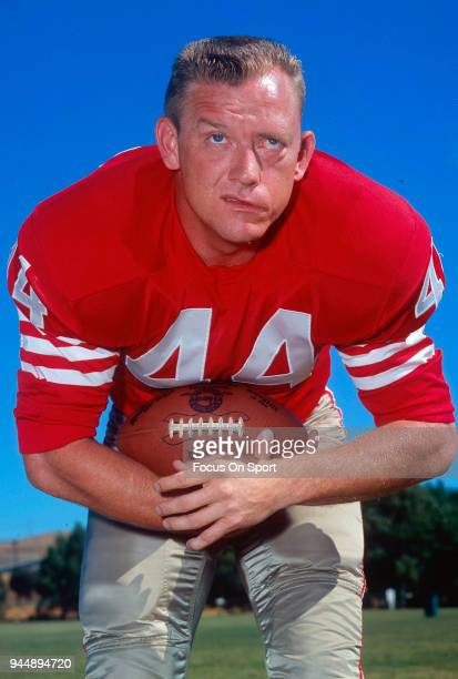John David Crow of the San Francisco 49ers of the NFL poses for this photo circa 1965 Crow played for the 49ers from 196568 John David Crow