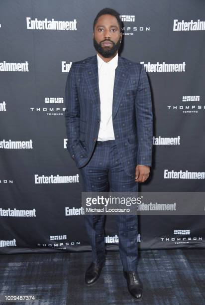 John David Washington attends Entertainment Weekly's Must List Party at the Toronto International Film Festival 2018 at the Thompson Hotel on...
