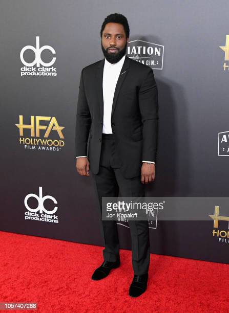 John David Washington attends the 22nd Annual Hollywood Film Awards at The Beverly Hilton Hotel on November 4 2018 in Beverly Hills California