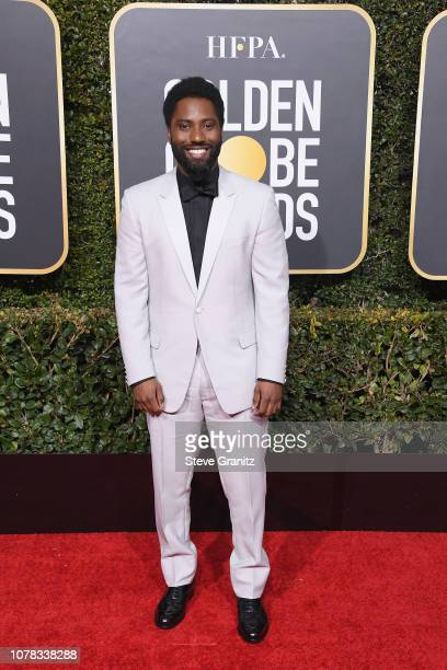 John David Washington attends the 76th Annual Golden Globe Awards at The Beverly Hilton Hotel on January 6 2019 in Beverly Hills California