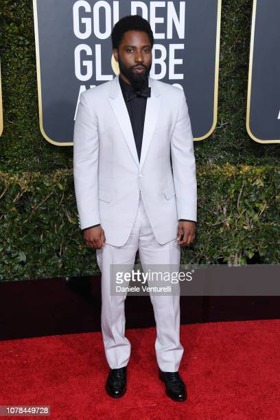 John David Washington attends the 76th Annual Golden Globe Awards at The Beverly Hilton Hotel on January 6, 2019 in Beverly Hills, California.