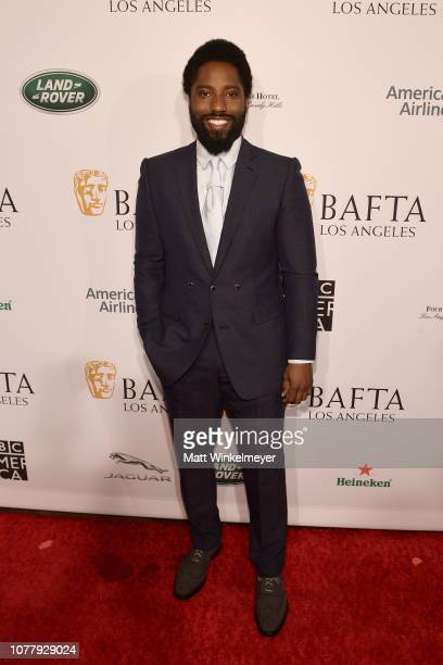 John David Washington attends The BAFTA Los Angeles Tea Party at Four Seasons Hotel Los Angeles at Beverly Hills on January 5 2019 in Los Angeles...