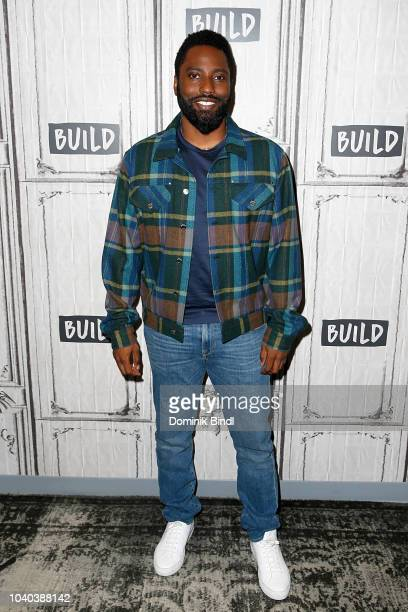 John David Washington attends the Build Series to discuss 'Monsters and Men' at Build Studio on September 25 2018 in New York City