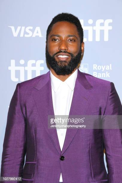 John David Washington attends the Monsters And Men Premiere during the 2018 Toronto International Film Festival at TIFF Bell Lightbox on September 6...