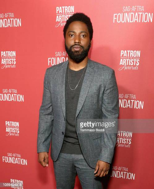 John David Washington attends the SAGAFTRA Foundation's 3rd Annual Patron of the Artists Awards at the Wallis Annenberg Center for the Performing...