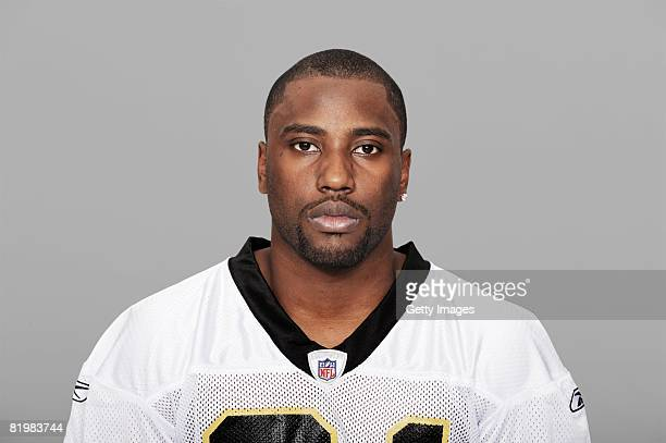 John David Washington of the New Orleans Saints poses for his 2008 NFL headshot at photo day in New Orleans Louisiana