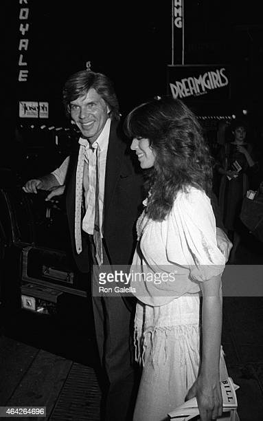 John Davidson and Rhonda Rivera attend the performance of Agnes of God on July 12 1982 at the Morosco Theater in New York City