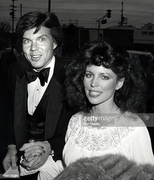 John Davidson and Rhonda Rivera during Bob Hope's 30th Anniversary Party at NBC's Burbank Studio in Burbank California United States