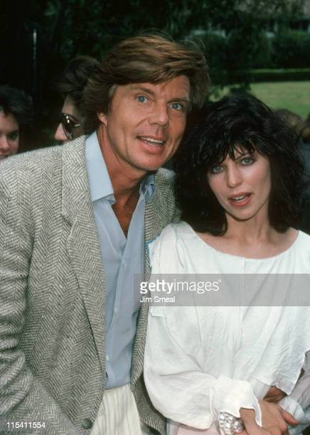 John Davidson and Wife Rhonda Rivera during Benefit for The Santa Monica Rape Treatment Center September 29 1985 in Beverly Hills California United...